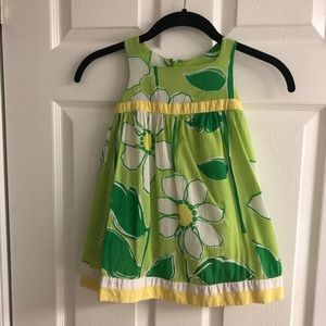 Lilly Pulitzer White Tag 2T Toddler Daisy Shift